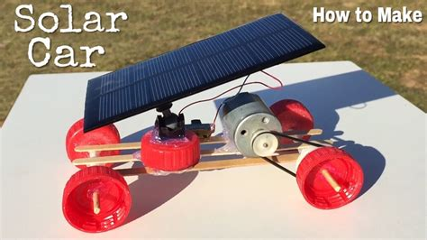 build mini car how to make a car mini solar powered car easy to build