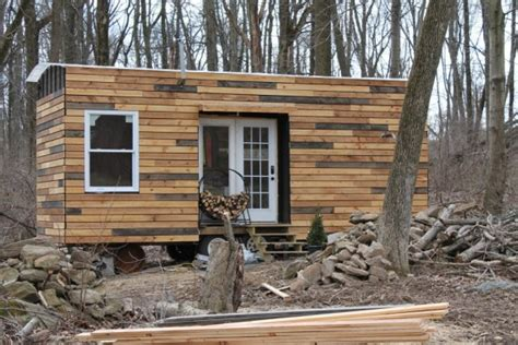 tiny house siding nate and jen s house on wheels living simply and free in