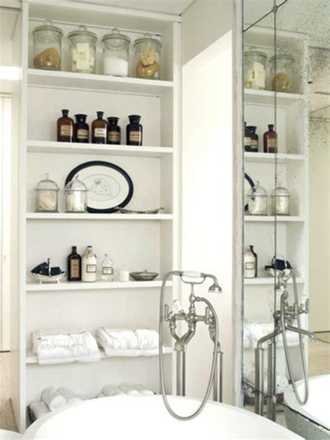 Badezimmer Regal Deko by 43 Praktische Und Coole Badezimmer Organisation Ideen