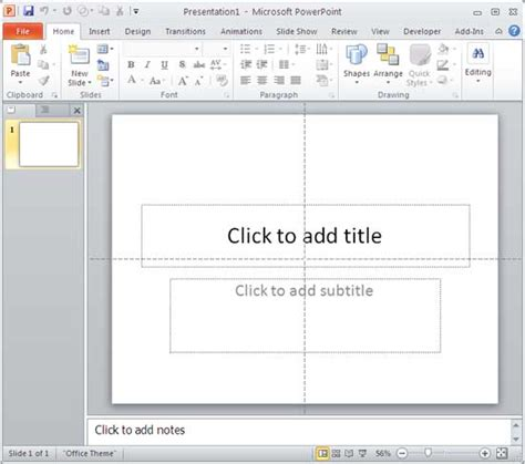 change layout of presentation change slide layout in powerpoint 2010 for windows