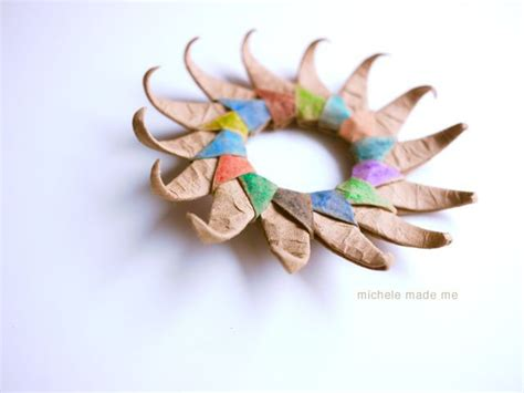 How To Make A Paper Sun - michele made me reader question how do you make that
