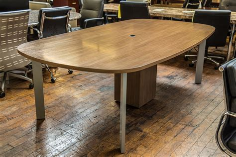 Haworth Planes Conference Table Haworth Planes Walnut 8 X 4 5 Conference Table Peartree Office Furniture