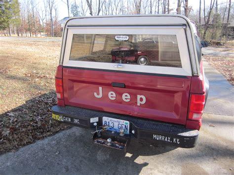 1988 jeep comanche sport truck 1988 jeep comanche sport 2wd 4 speed manual