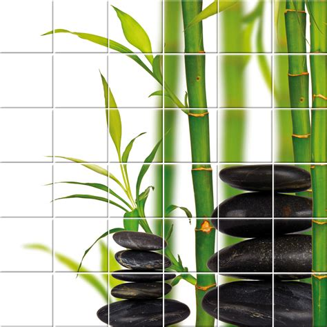 tile wall stickers wallstickers folies bamboo tiles wall stickers