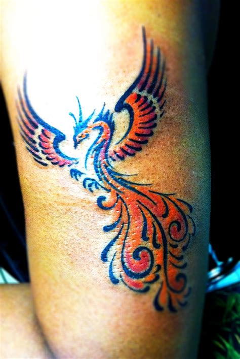 tattoo of phoenix rising from the ashes phoenix tattoo best images collections hd for gadget