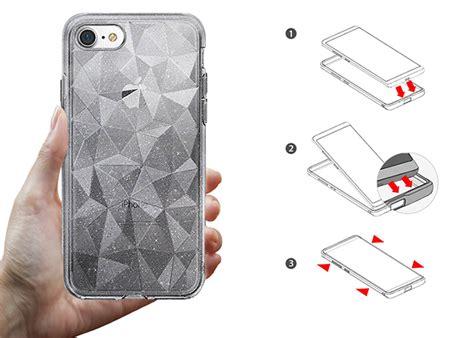 Original Rearth Ringke Air Iphone 8 7 Clear etui ringke air prism apple iphone 7 8 glitter clear 4kom pl