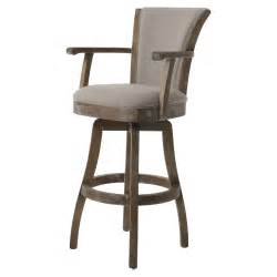 impacterra glenwood swivel counter stool with arms bar