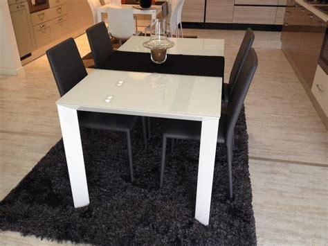 tavoli scavolini allungabili tavolo scavolini mod vetro 160 x 90 cm all 32