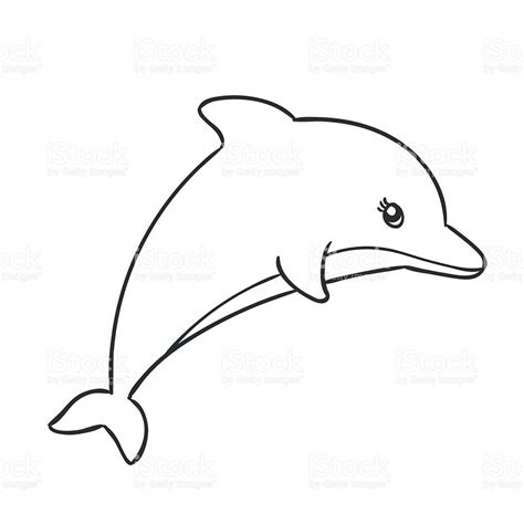 Drawing Of A by Dolphins Pencil And In Color Dolphins