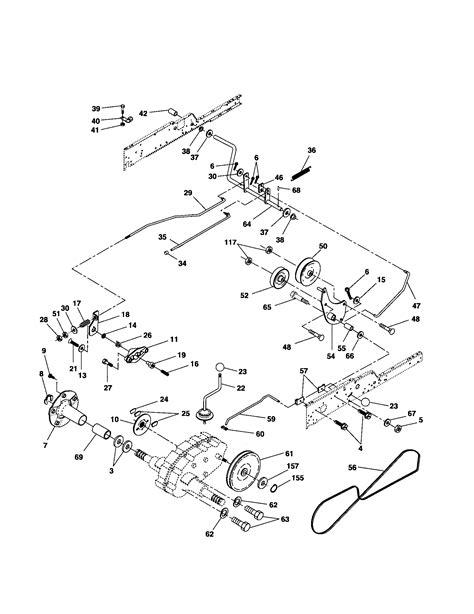 Husqvarna Yth24k48 Drive Belt Diagram - Free Wiring Diagram