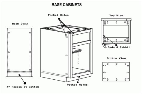 kitchen cabinet construction details kitchen cabinets construction woodoperating machinery