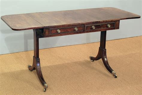 small antique rosewood sofa table small sofa table