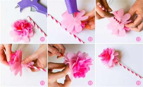 How To Make Handmade Paper Flowers - how to make handmade flowers from paper trendy mods