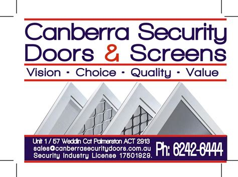 canberra security doors screens casey 14