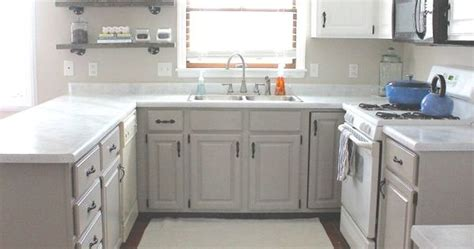 nuvo cabinet paint abstract ash giani white countertop this cabinet look can be replicated with nuvo cabinet paint in