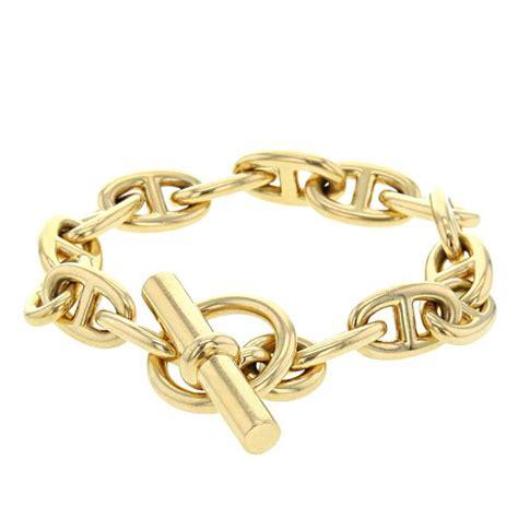Bracelet Hermès Chaîne D'ancre 325702   Collector Square