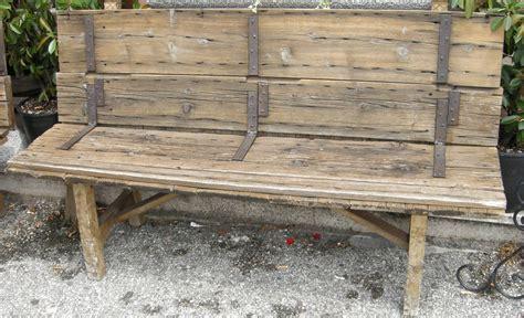 panchina legno panchina in legno vecchia robevecie
