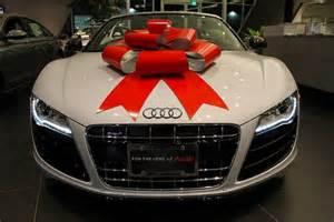 audi gift ribbon regalo r8 audir8