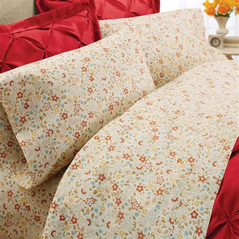 bed sheets at walmart better homes and gardens percale bedding sheet set