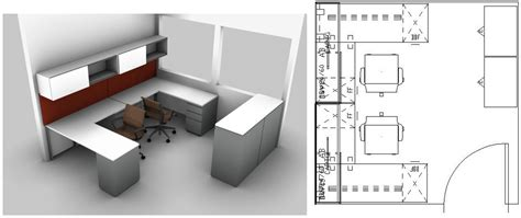 Small Office Design Layout Ideas | small spaces design the perfect small office layout for two workers in a 10 x 10 benhar