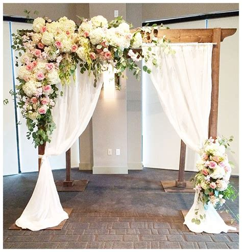 draping flowers for weddings beautiful wedding pergola debated with flowers and draping