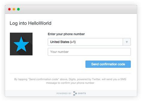 login phone number digits login for web released