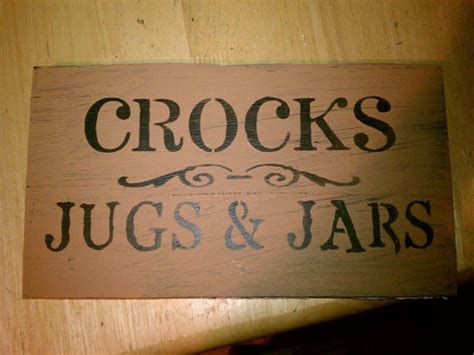 country home decor signs bloombety crocks jugs and jars