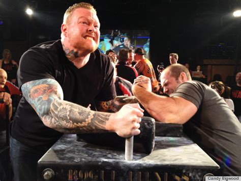 yes professional arm wrestling is a thing and it s