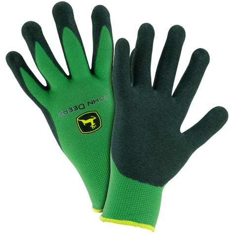 deere nitrile coated large grip gloves jd00018 l