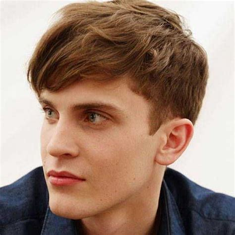 Boys Short Haircut With Long Bangs | 10 popular boys haircuts with bangs mens hairstyles 2018