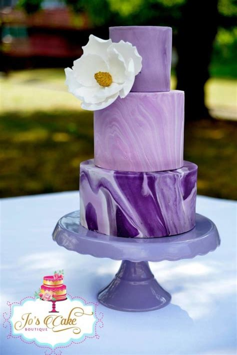 Wedding Cake No Fondant by Marbled Fondant Wedding Cake Cake By Joscakeboutique