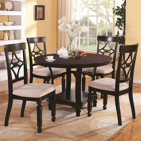 maud dining room coaster maude 103630 103632 brown wood dining table set in los angeles ca