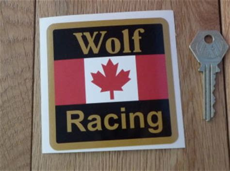 Wolf Racing Aufkleber by Wolf Racing I Say Ding Dong Shop Buy Stickers Decals
