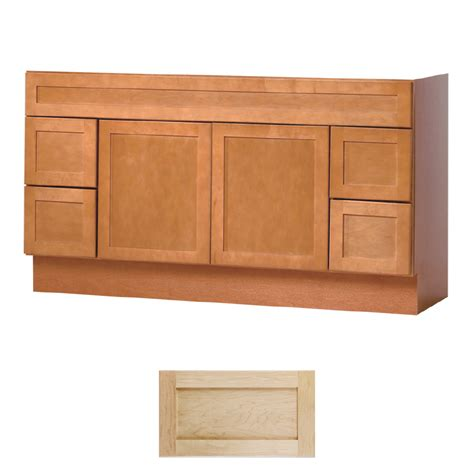 Bathroom Vanity Maple Shop Insignia Crest Maple Transitional Bathroom Vanity Common 60 In X 21 In Actual