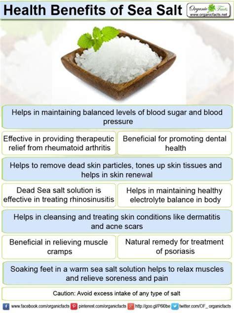 health benefits of salt ls health benefits of sea salt include good skin care