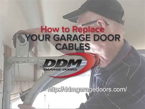 How To Replace A Garage Door by How To Replace Your Garage Door Cables