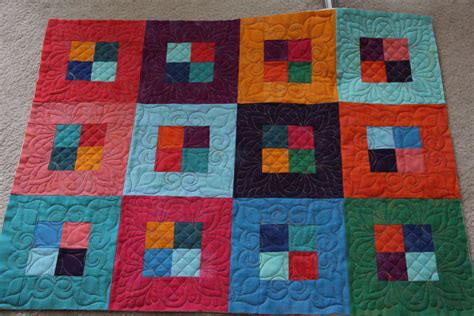 Quilt In The Hoop by Machine Quilting With Embroidery Edgestitch