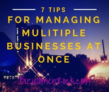 7 Tips On Handling Critics by 7 Tips For Managing Businesses At Once Biz