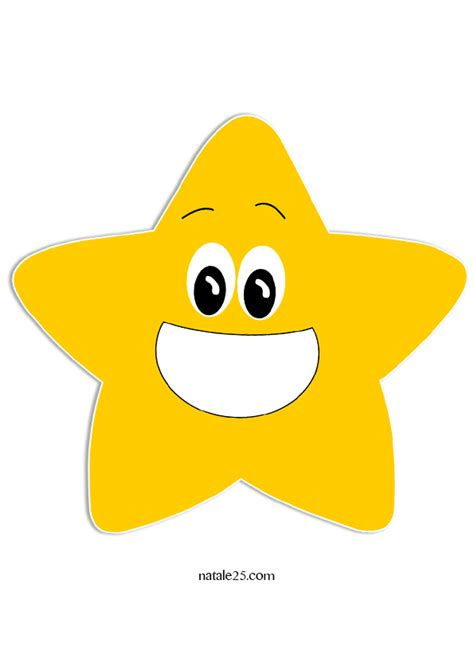 clipart stelle stella gialla natale 25