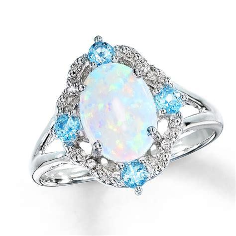 Lovely Opal Wedding Rings for Women
