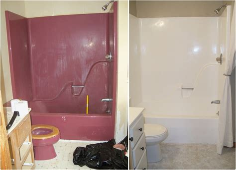 re enameling bathtub re enameling a maroon bathtub