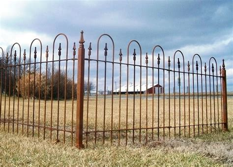 wrought iron fence 3 foot tall