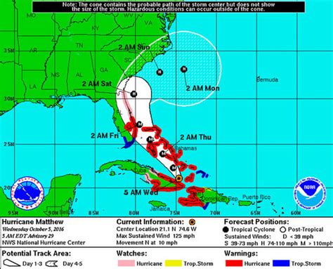hurricane map hurricane matthew update tracking map path live weather forecast and maps