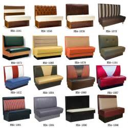 10913 modern restaurant booth seating fabric double side booth sofa upholstered double booth