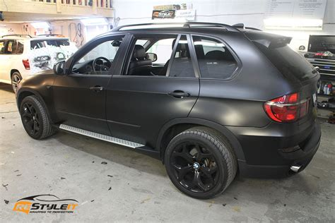 matte bmw x5 satin black bmw x5 vehicle customization shop vinyl