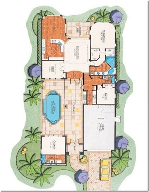 courtyard homes floor plans courtyard floor plan bonita springs