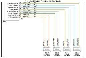 1998 f150 door speaker wiring diagram 1998 ford f 150