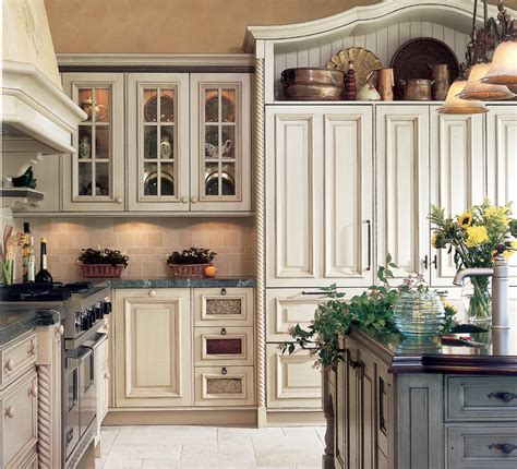 antique white kitchen cabinets country french kitchen cabinets antique white crackle