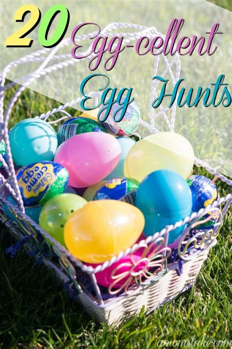 easter hunt ideas 20 egg cellent easter egg hunt ideas a mom s take