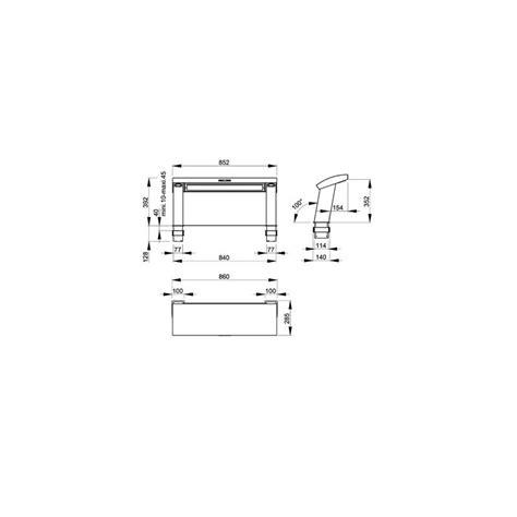 modele de cuisine avec ilot 2124 hotte de plan frank 233 aero